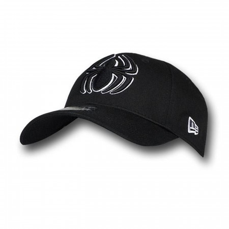 Spiderman 3D Symbol Black 39Thirty Baseball Cap