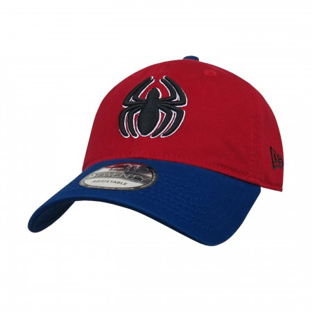 Spider-Man Blue and Red New Era 9Twenty Adjustable Hat