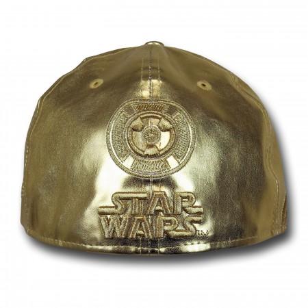 Star Wars C3PO Armor 59Fifty Hat