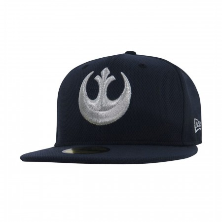 Star Wars Rebel Symbol Navy 59Fifty Fitted Hat
