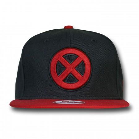 X-Men Symbol Red Bill 9Fifty Snapback Cap