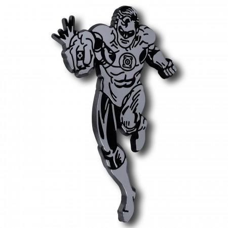 Green Lantern Running 3D Plastic Car Emblem