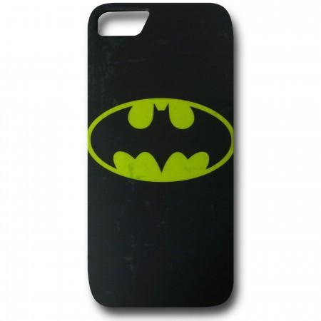 Batman Distressed Symbol iPhone 5 Case