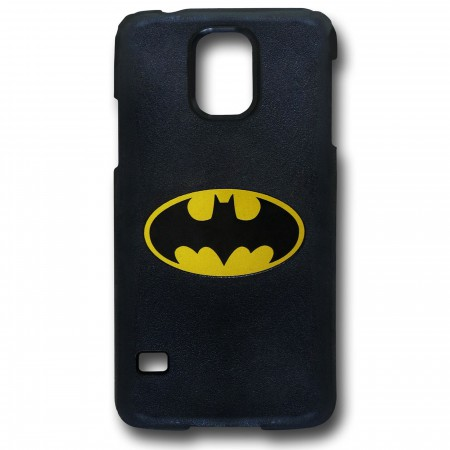 Batman Symbol Galaxy S5 Black Thinshield Case