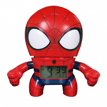 Spiderman Bulb Botz Clock