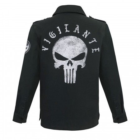 Punisher Vigilante Denim Jacket