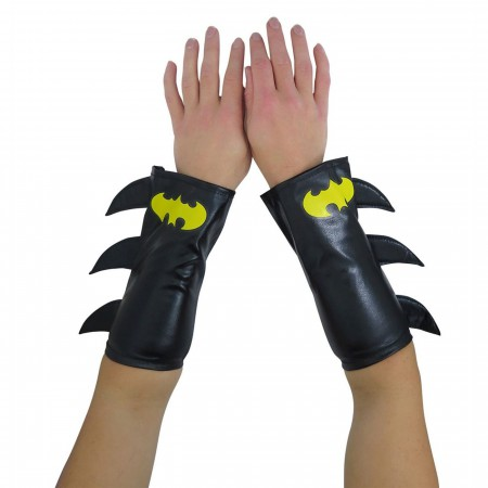 Batgirl Costume Gauntlets