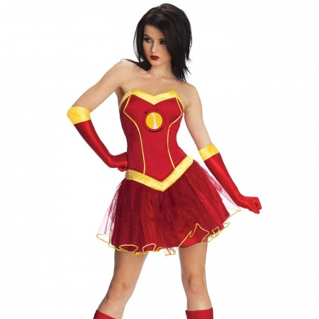 Iron Man Rescue Women's Costume