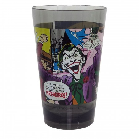 Batman Joker Fireworks 22oz Plastic Tumbler Cup