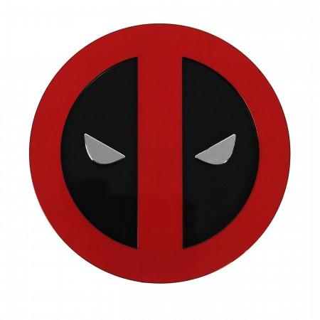 Deadpool Color Symbol Chome Car Emblem