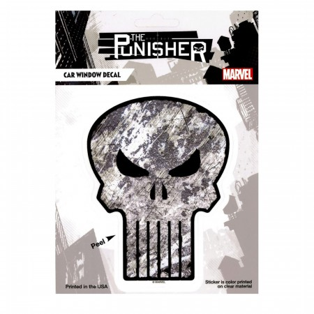 Punisher Rough Symbol Decal