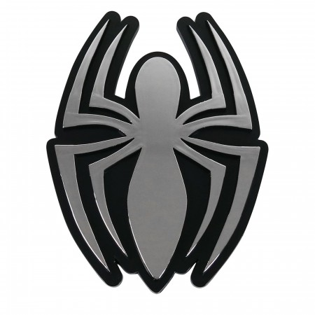 Spiderman Symbol Chrome Car Emblem