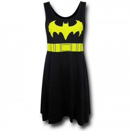 Batgirl Women's A-Line Scoop Neck Dress