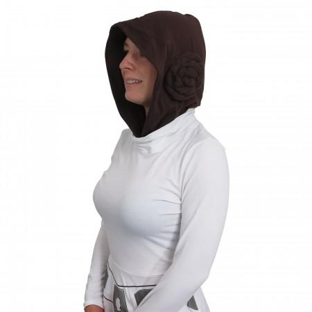 Star Wars Leia Hooded Women's Skater Dress