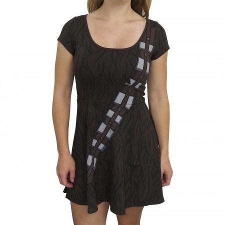 Star Wars Chewbacca Women's Skater Dress