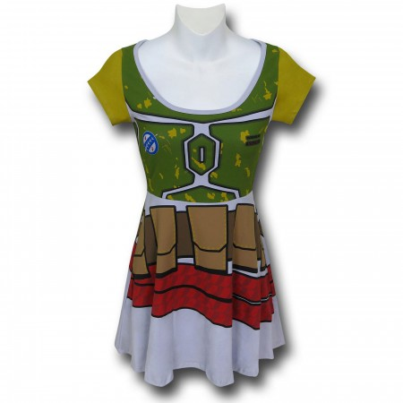 Star Wars Boba Fett Women's Skater Dress