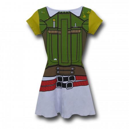 Star Wars Boba Fett Women's Skater Dress
