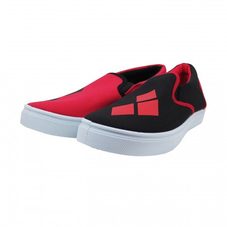 Harley Quinn Logo Women's Slip On Sneakers