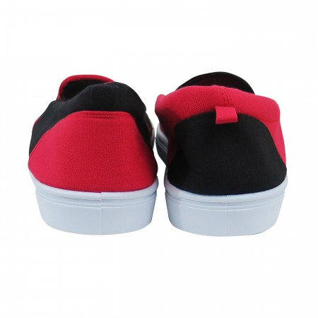 Harley Quinn Logo Women's Slip On Sneakers