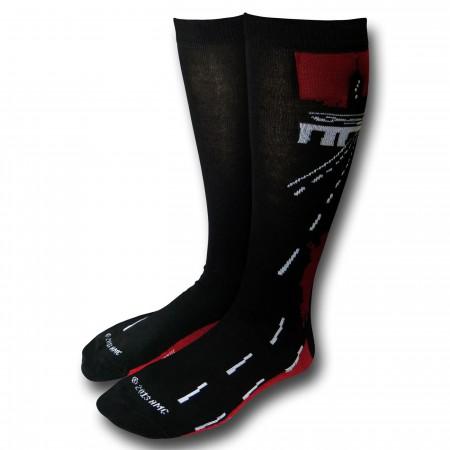 Walking Dead Men's 2-Pack Crew Socks