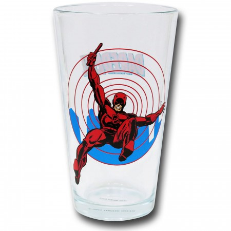 Daredevil Clear Pint Glass