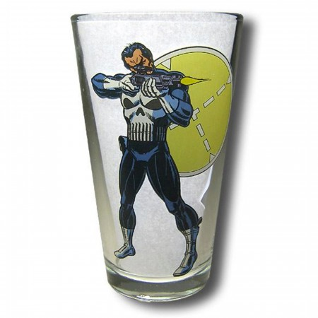 Punisher Clear Pint Glass