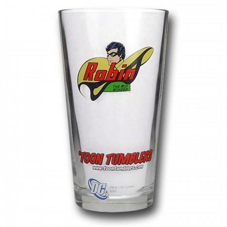 Robin Pint Glass