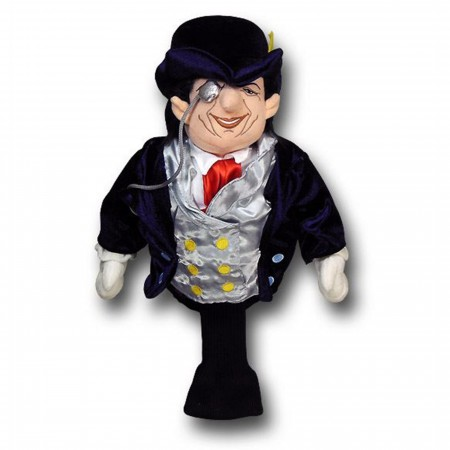 Penguin Figure Golf Club Cover