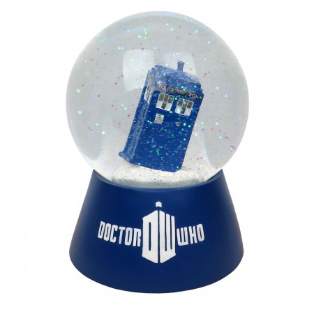 Doctor Who Tardis Lighted Snow Globe