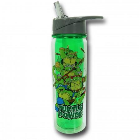 TMNT Flip-Top Double-Wall Water Bottle