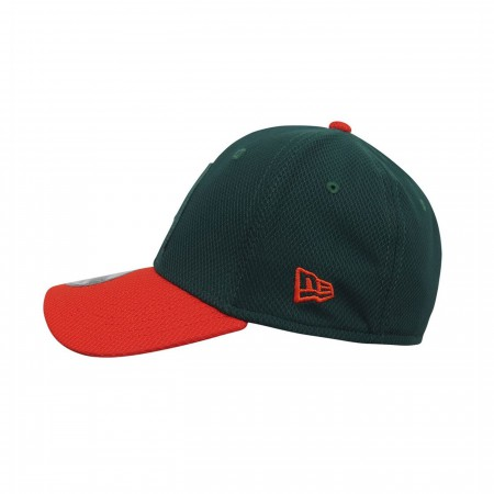 Aquaman Symbol Green 39Thirty Fitted Hat