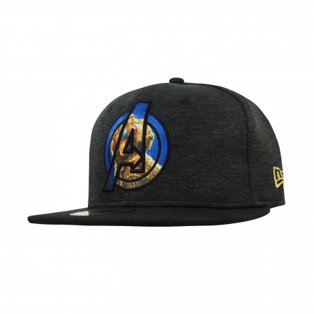 Avengers Infinity War Gauntlet Logo 59Fifty Fitted Hat