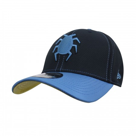 Blue Beetle Symbol Armor 39Thirty Fitted Hat