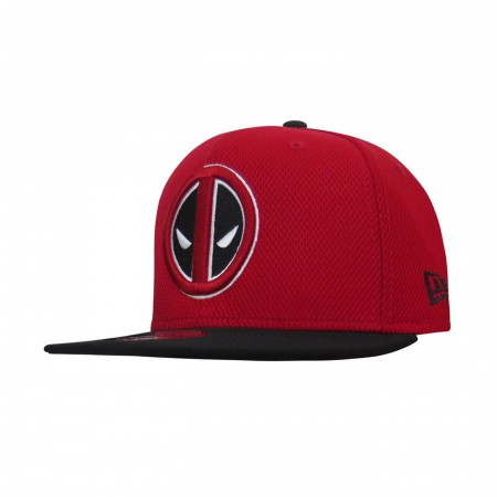 Deadpool Symbol Red & Black 9Fifty Adjustable Hat