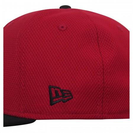Deadpool Symbol Red & Black 9Fifty Adjustable Hat
