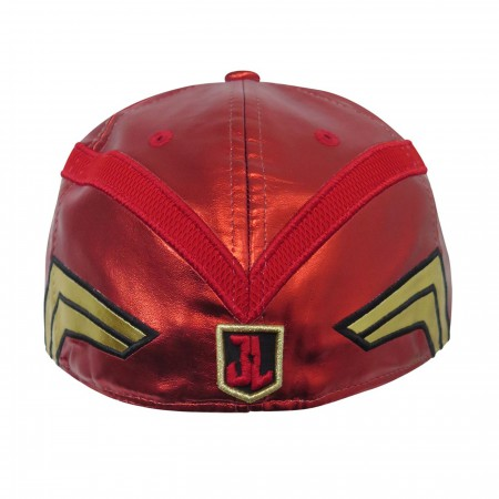 Flash Justice League Armor 59Fifty Fitted Hat