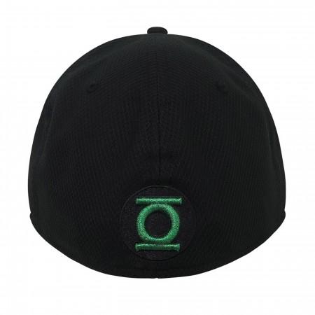 Green Lantern John Stewart Symbol 39Thirty Fitted Hat