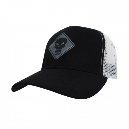 Punisher Scout Adjustable Trucker Snapback Hat