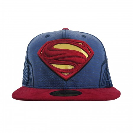 Superman Justice League Armor 59Fifty Fitted Hat
