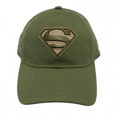 Superman Salute to Service 9Twenty Adjustable Hat