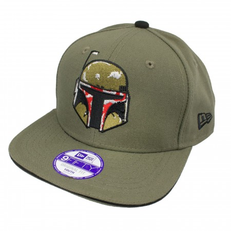 07881447 Star Wars Boba Fett Kids 9FIFTY Youth Adjustable Hat