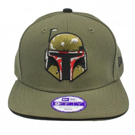 Star Wars Boba Fett New Era Kids 9Fifty Youth Adjustable Hat