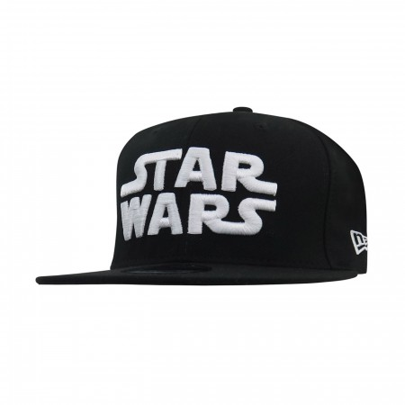 Star Wars White Logo 9Fifty Adjustable Hat