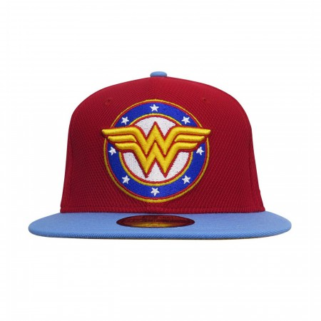 Wonder Woman Stars Logo 59Fifty Fitted Hat