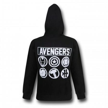 Avengers Symbols Men's Hoodie