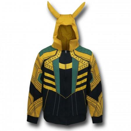 Loki Horned Costume Hoodie