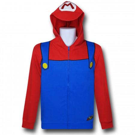 Nintendo Mario Costume Hoodie
