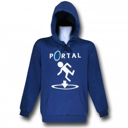 Portal This Way Blue Hoodie