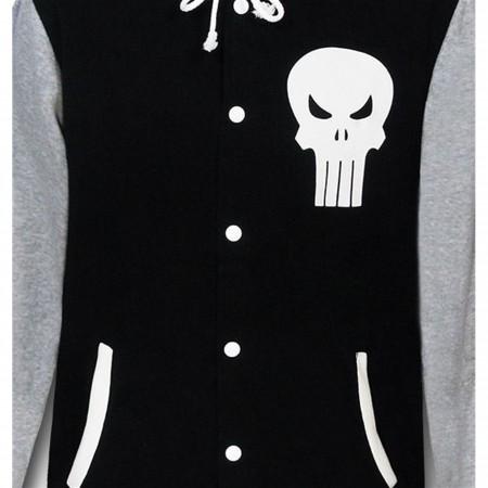Punisher Varsity Button-Up Hoodie