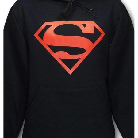 Superboy Hoodie Red Outline
